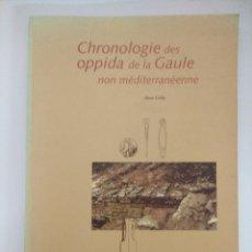 Libros de segunda mano: LIBRO ARQUEOLOGIA/CHRONOLOGIE DES OPPIDA DE LA GAULE NON MEDITERRANEENNE.. Lote 236585095