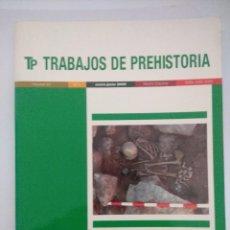 Libros de segunda mano: LIBRO/TRABAJOS DE PREHISTORIA Nº1.. Lote 236608810