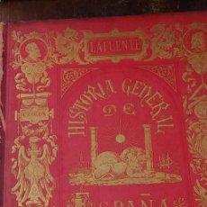 Libros de segunda mano: HISTORIA GENERAL DE ESPAÑA, LAFUENTE, TOMO IV, 1879, PYMY X. Lote 236611815