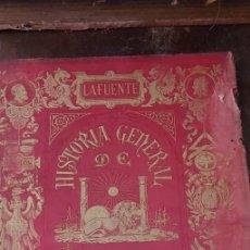 Libros de segunda mano: HISTORIA GENERAL DE ESPAÑA, LAFUENTE, TOMO V, 1879, PYMY X. Lote 236612420