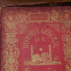Libros de segunda mano: HISTORIA GENERAL DE ESPAÑA, LAFUENTE, TOMO VI, 1879, PYMY X. Lote 236613065