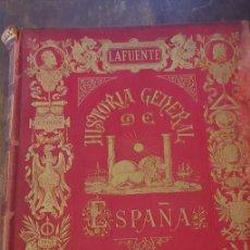 Libros de segunda mano: HISTORIA GENERAL DE ESPAÑA, LAFUENTE, TOMO III, 1879, PYMY X. Lote 236614650