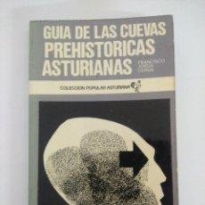 Libros de segunda mano: LIBRO/GUIA DE LAS CUEVAS PREHISTORICAS ASTURIANAS/FRANCISCO JORDA CERDA.. Lote 236691200