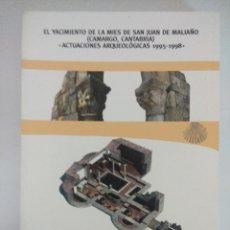 Libros de segunda mano: LIBRO ARQUEOLOGIA/EL YACIMIENTO DE LA MIES DE SAN JUAN DE MALIAÑO-CAMARGO/CANTABRIA.. Lote 236701040
