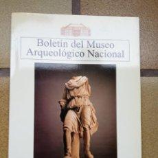 Libros de segunda mano: BOLETÍN DEL MUSEO ARQUEOLÓGICO NACIONAL, TOMO X, Nº 1 Y 2, 1992. Lote 236790480