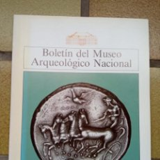 Libros de segunda mano: BOLETÍN DEL MUSEO ARQUEOLÓGICO NACIONAL, TOMO VIII, Nº 1 Y 2, 1990. Lote 236791765