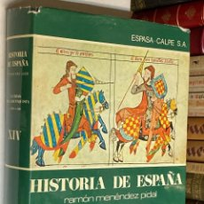 Libros de segunda mano: AÑO 1976 - LA CRISIS DE LA RECONQUISTA - TOMO XIV HISTORIA DE ESPAÑA RAMÓN MENÉNDEZ PIDAL. Lote 237543570