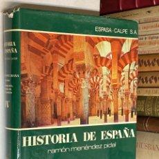 Libros de segunda mano: AÑO 1976 - LA ESPAÑA MUSULMANA (711 - 1031) - TOMO IV HISTORIA DE ESPAÑA RAMÓN MENÉNDEZ PIDAL. Lote 237545995