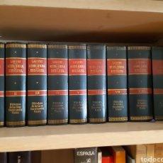 Libros de segunda mano: HISTORIA GENERAL DE BIZCAYA LA GRAN ENCICLOPEDIA VASCA AÑO 1967 9 TOMOS LABAYRU FACSIMIL 1895. Lote 238750965