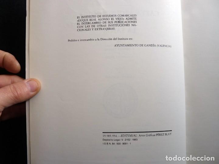 Libros de segunda mano: CARTA ARQUEOLÓGICA DE LA SAFOR. J. APARICIO - V. GUIRREA - S. CLIMENT. AYUNTAMIENTO GANDIA, 1983. DE - Foto 5 - 261153270