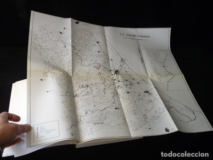 Libros de segunda mano: CARTA ARQUEOLÓGICA DE LA SAFOR. J. APARICIO - V. GUIRREA - S. CLIMENT. AYUNTAMIENTO GANDIA, 1983. DE - Foto 6 - 261153270