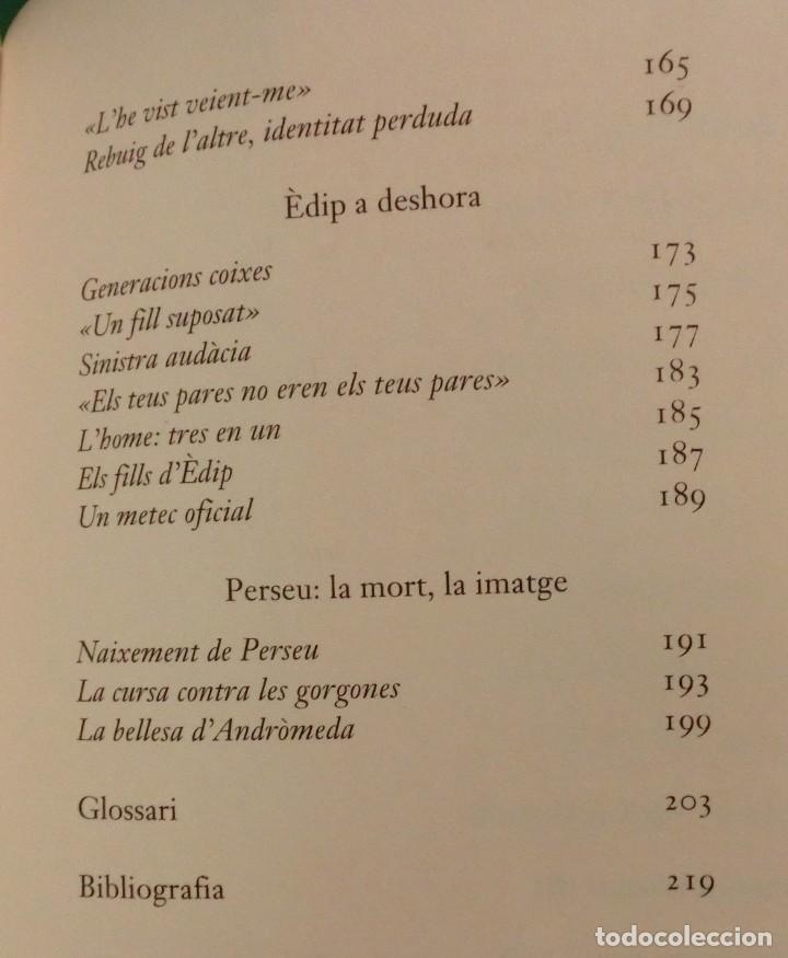 Libros de segunda mano: L´UNIVERS, ELS DÉUS, ELS HOMES - JEAN-PIERRE VERNANT / MITOLOGIA GREGA I ROMANA [DESCATALOGAT] - Foto 11 - 240758840