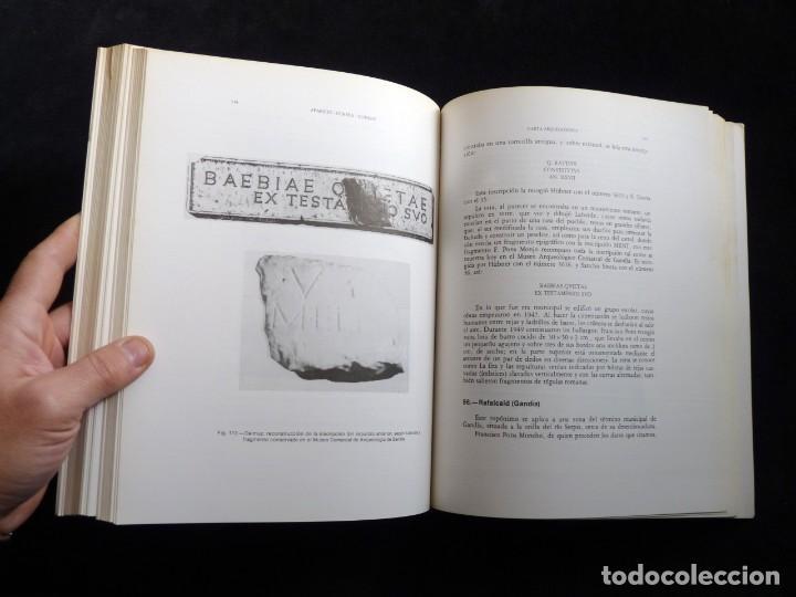 Libros de segunda mano: CARTA ARQUEOLÓGICA DE LA SAFOR. J. APARICIO - V. GUIRREA - S. CLIMENT. AYUNTAMIENTO GANDIA, 1983. DE - Foto 9 - 261153270