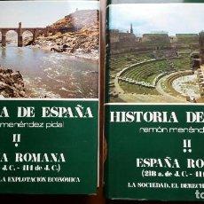 Libros de segunda mano: HISTORIA DE ESPAÑA TOMO II PARTE 1 Y 2 - RAMON MENENDEZ PIDAL. Lote 241974465