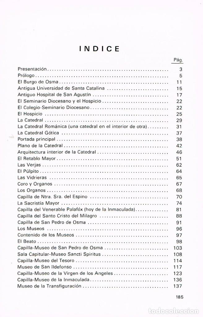 Libros de segunda mano: La Catedral de Burgo de Osma (José Arranz) - Foto 2 - 242136610