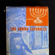 Libros de segunda mano: LOS JUDIOS ESPAÑOLES. FELIPE TORROBA. GOMEZ MENOR, 1977. Lote 242897495