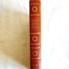 Libros de segunda mano: DURANT: LA VIE DE LA GRÈCE - NUEVO. Lote 242954855