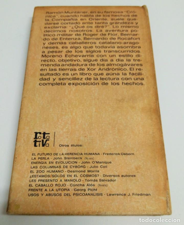 Libros de segunda mano: LOS ALMOGÁVARES - J. MARIA MORENO ECHEVARRIA - Foto 2 - 243815045