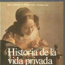 Libros de segunda mano: HISTORIA DE LA VIDA PRIVADA 6. LA COMUNIDAD, EL ESTADO Y LA FAMILIA EN LOS SIGLOS XVI-XVIII TAURUS. Lote 243858860