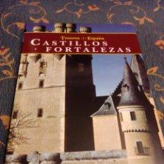 Libros de segunda mano: TESOROS DE ESPAÑA CASTILLOS Y FORTALEZAS, ESPASA. Lote 243900820