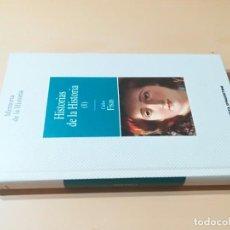 Libros de segunda mano: HISTORIAS DE LA HISTORIA I / CARLOS FISAS / PLANETA / CMA46. Lote 245101540