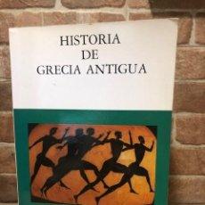 Libros de segunda mano: HISTORIA DE GRECIA ANTIGUA. JOSÉ MARÍA BLÁZQUEZ. RAQUEL LÓPEZ MELERO. JUAN JOSÉ SAYAS.. Lote 245178760