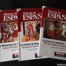 Libros de segunda mano: COLECCIÓN HISTORIA DE ESPAÑA.. Lote 245179225