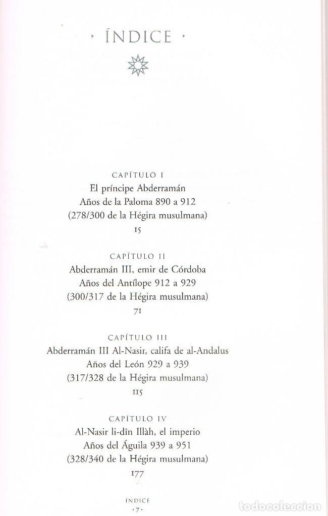 Libros de segunda mano: Abderraman III (Magdalena Lasala). Vder indice - Foto 2 - 245560600
