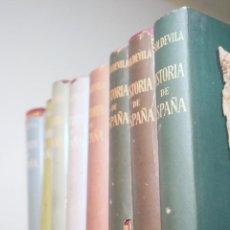 Libros de segunda mano: SOLDEVILA, F. - HISTORIA DE ESPAÑA (8 VOL. - COMPLETO) - BARCELONA 1952-1955 - ILUSTADOS. Lote 245912505