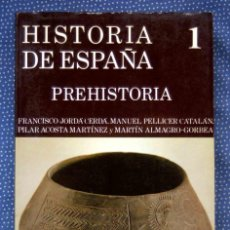 Libros de segunda mano: HISTORIA DE ESPAÑA GREDOS, TOMO 1. PREHISTORIA - F. JORDA CERDA ET AL -EDITORIAL GREDOS. Lote 246013970