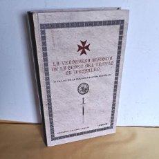 Libros de segunda mano: ANTONIO GALERA GRACIA - LA VERDADERA HISTORIA DE LA ORDEN DEL TEMPLO DE JERUSALÉN - EDAF 2008. Lote 248844210
