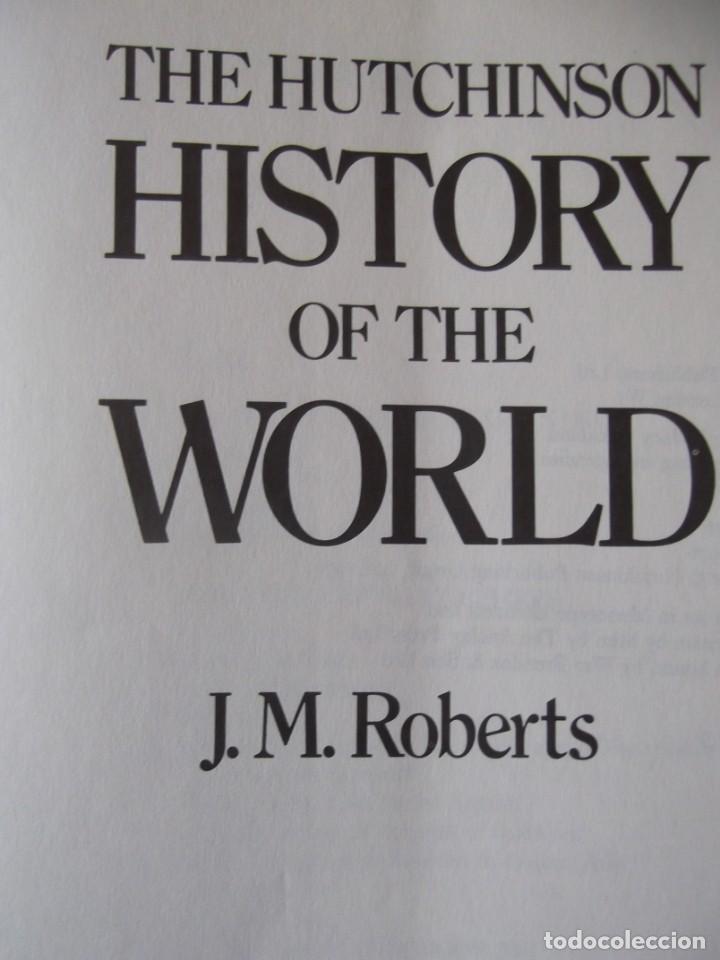 Libros de segunda mano: The hutchinson history of the WORLD de J. M. Roberts 1976 (26X 20 x 6,5 cm) - Foto 4 - 251325355