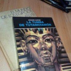 Libros de segunda mano: 'LA TUMBA DE TUTANKHAMÓN' DE HOWARD CARTER. Lote 251544460