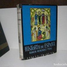 Libros de segunda mano: ESPAÑA CRISTIANA: COMIENZO DE LA RECONQUISTA (711-1038) T. VI. HISTORIA DE ESPAÑA. MENÉNDEZ PIDAL. Lote 251850005