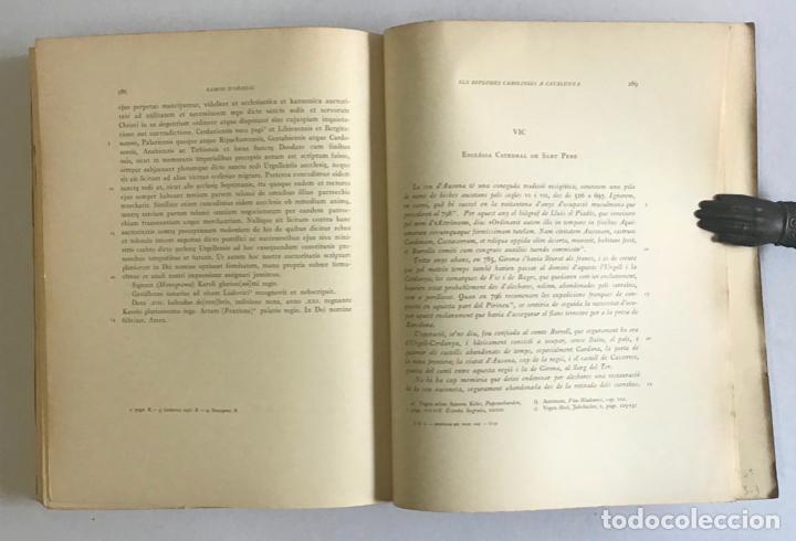 Libros de segunda mano: CATALUNYA CAROLINGIA. VOLUM II. ELS DIPLOMES CAROLINGIS A CATALUNYA. PRIMERA PART I SEGONA PART. - Foto 5 - 253251325