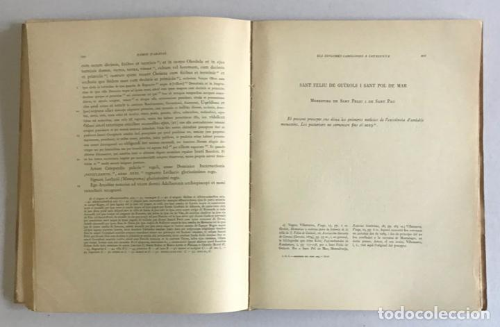 Libros de segunda mano: CATALUNYA CAROLINGIA. VOLUM II. ELS DIPLOMES CAROLINGIS A CATALUNYA. PRIMERA PART I SEGONA PART. - Foto 6 - 253251325