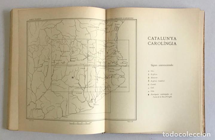 Libros de segunda mano: CATALUNYA CAROLINGIA. VOLUM II. ELS DIPLOMES CAROLINGIS A CATALUNYA. PRIMERA PART I SEGONA PART. - Foto 10 - 253251325