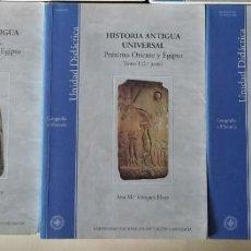 Libros de segunda mano: HISTORIA ANTIGUA UNIVERSAL 3 LIBROS - PROXIMO ORIENTE EGIPTO Y MUNDO GRIEGO SEGUNDA MITAD -UNED. Lote 253261340