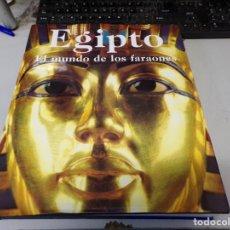 Libros de segunda mano: EGIPTO. EL MUNDO DE LOS FARAONES - REGINE SCHULZ Y MATTHIAS SEIDEL. Lote 253335890