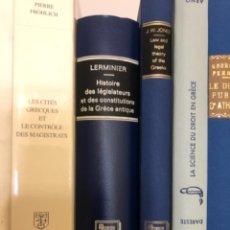 Libros de segunda mano: HISTOIRE DES LEGISLATEURA ET DES CONSTITUTIONS DE LA GRECE ANTIQUE LERMINIER. Lote 253846975