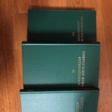 Libros de segunda mano: CORPUS IURIS ROMANI ANTEIUSTINIANI. Lote 253848715