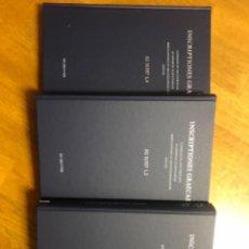 Libros de segunda mano: INSCRIPTIONES GRAECAE. Lote 253849870