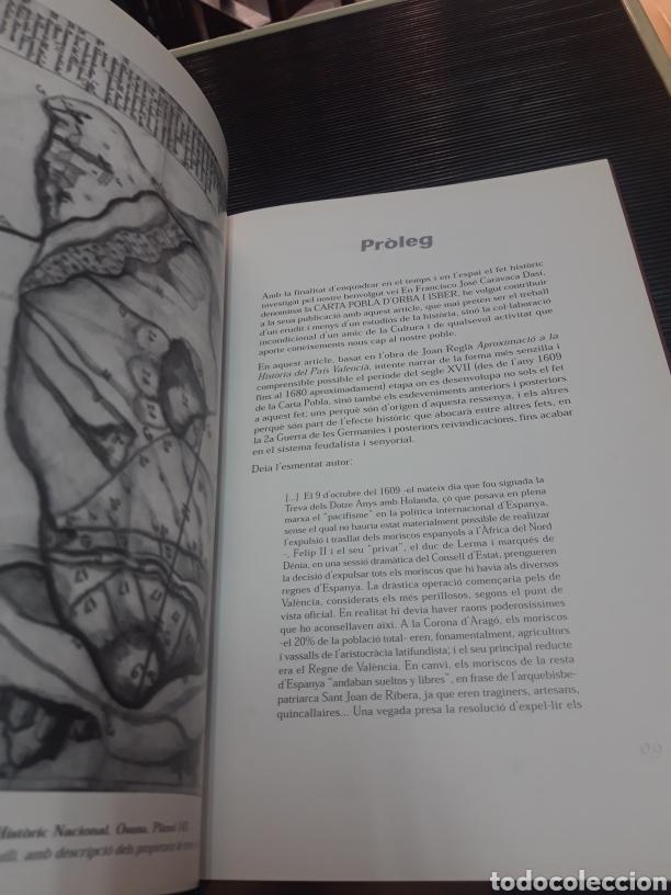 Libros de segunda mano: Carta pobla de les baronies DOrba i Ísber - Foto 4 - 254896935