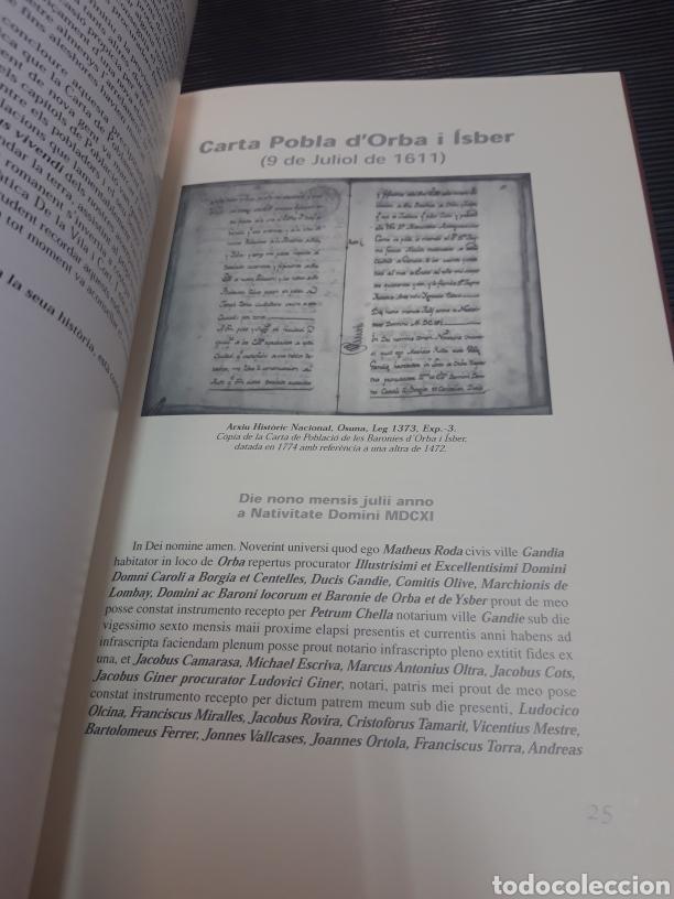 Libros de segunda mano: Carta pobla de les baronies DOrba i Ísber - Foto 7 - 254896935