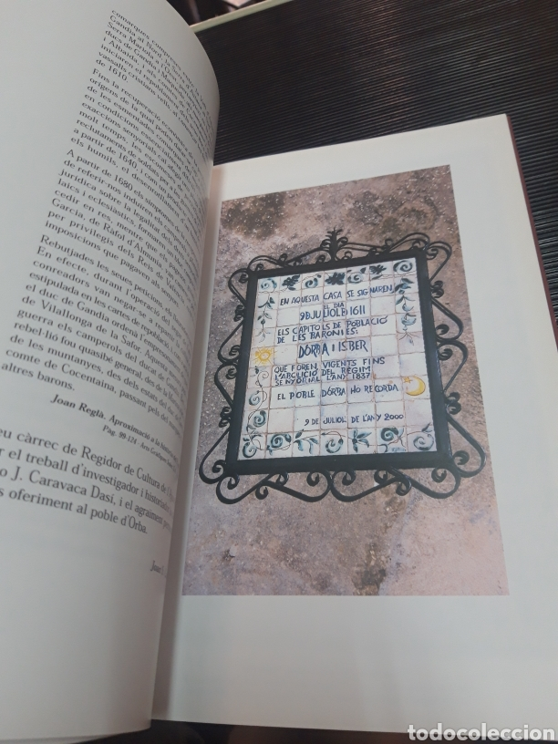 Libros de segunda mano: Carta pobla de les baronies DOrba i Ísber - Foto 9 - 254896935