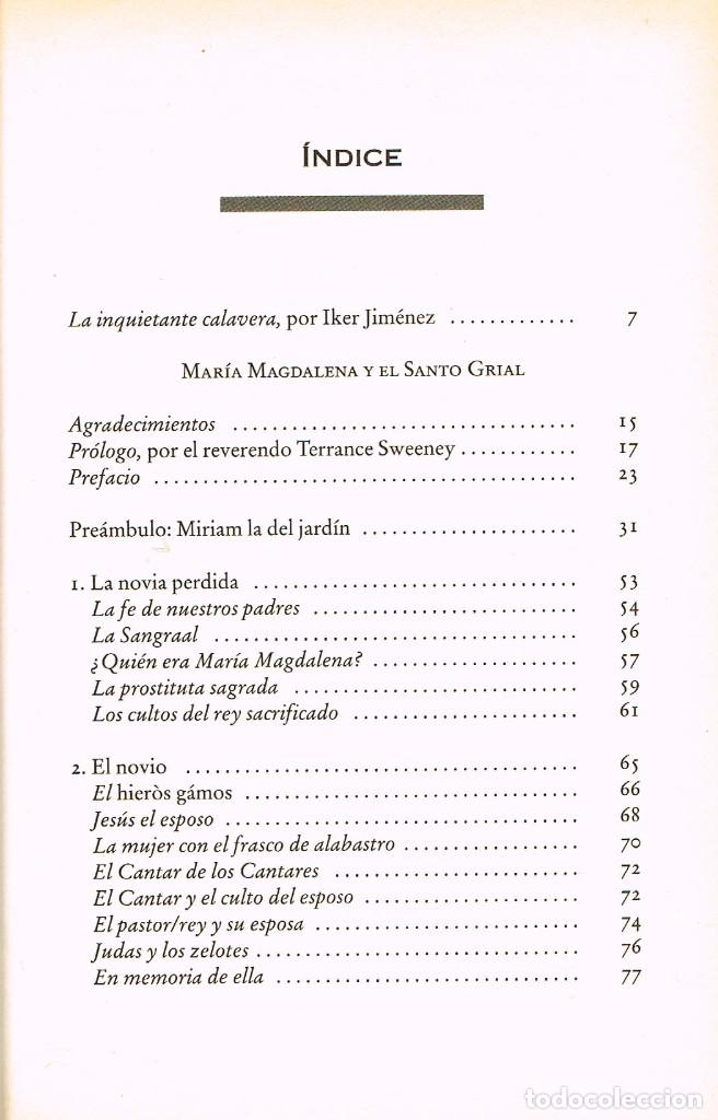 Libros de segunda mano: María Magdalena y el Santo Grial (Margaret Starbird). Ver indice - Foto 2 - 256047890