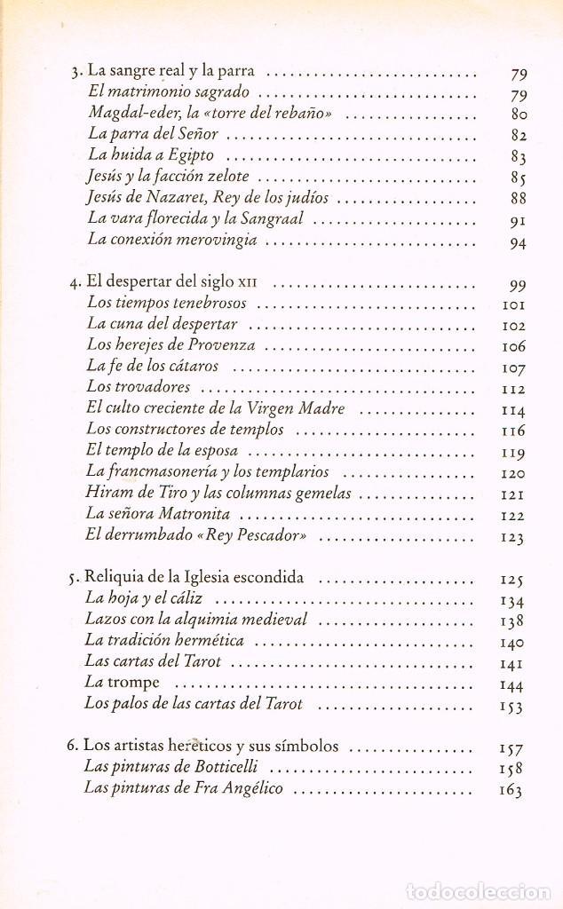 Libros de segunda mano: María Magdalena y el Santo Grial (Margaret Starbird). Ver indice - Foto 3 - 256047890