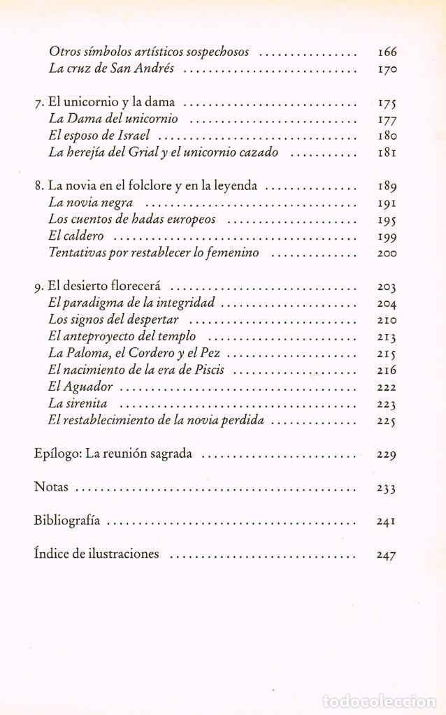 Libros de segunda mano: María Magdalena y el Santo Grial (Margaret Starbird). Ver indice - Foto 4 - 256047890