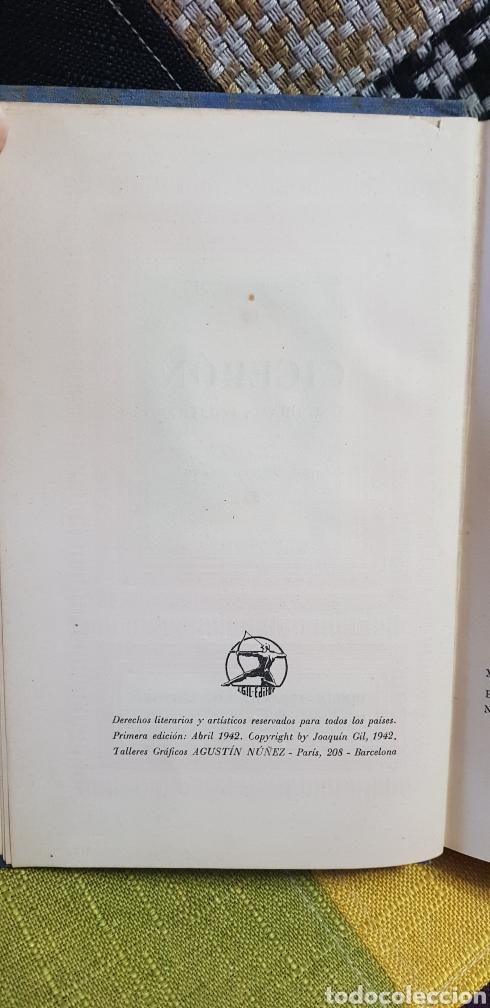 Libros de segunda mano: Libro CICERÓN Y SU DRAMA POLÍTICO. PRIMERA EDICIÓN, 1942 - Foto 9 - 259327015