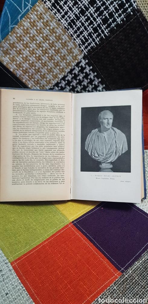 Libros de segunda mano: Libro CICERÓN Y SU DRAMA POLÍTICO. PRIMERA EDICIÓN, 1942 - Foto 12 - 259327015